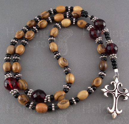 ANG-PB : Anglican PrayerBeads : Red