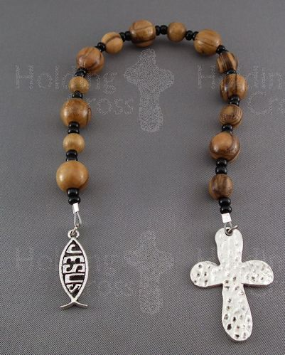 PP : Pray-n-Pause Beads with Fish Ichtus