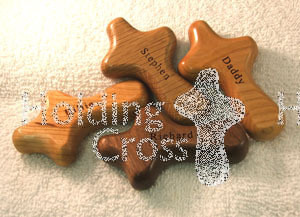 Engraving Service for HoldingCrosses - One Side Only
