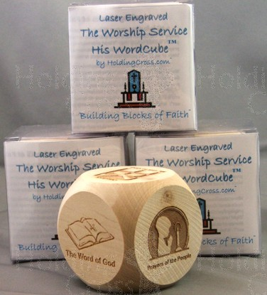 WC : The Worship Service or Communion PrayerCube